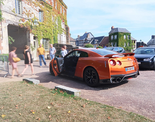 Roadtrip En Normandie - Nissan GTR