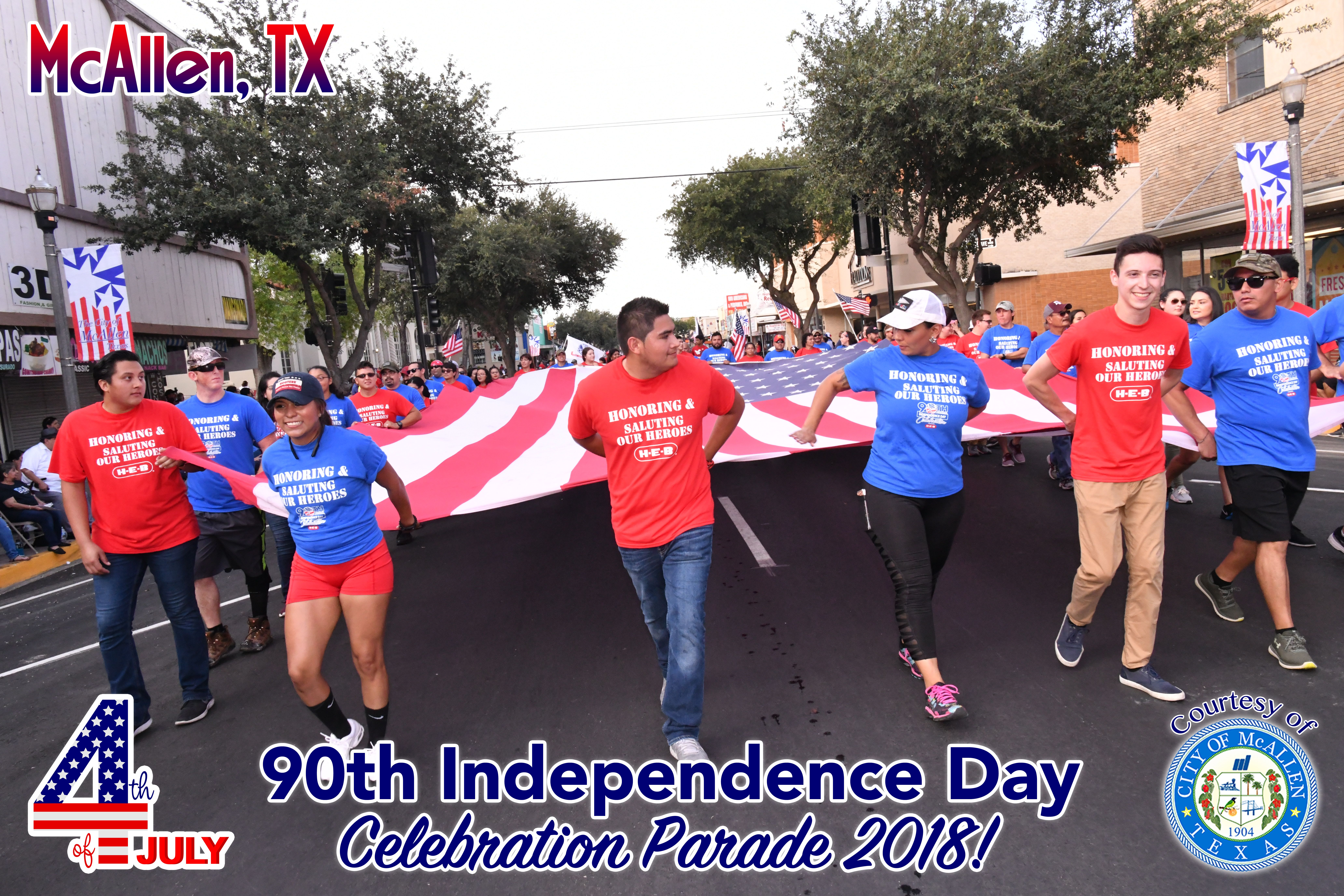 90th McAllen 4th of July Celebration Parade 2018 – Part 7