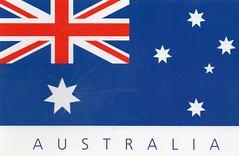 AU-581193   Australian Flag.   Australia.