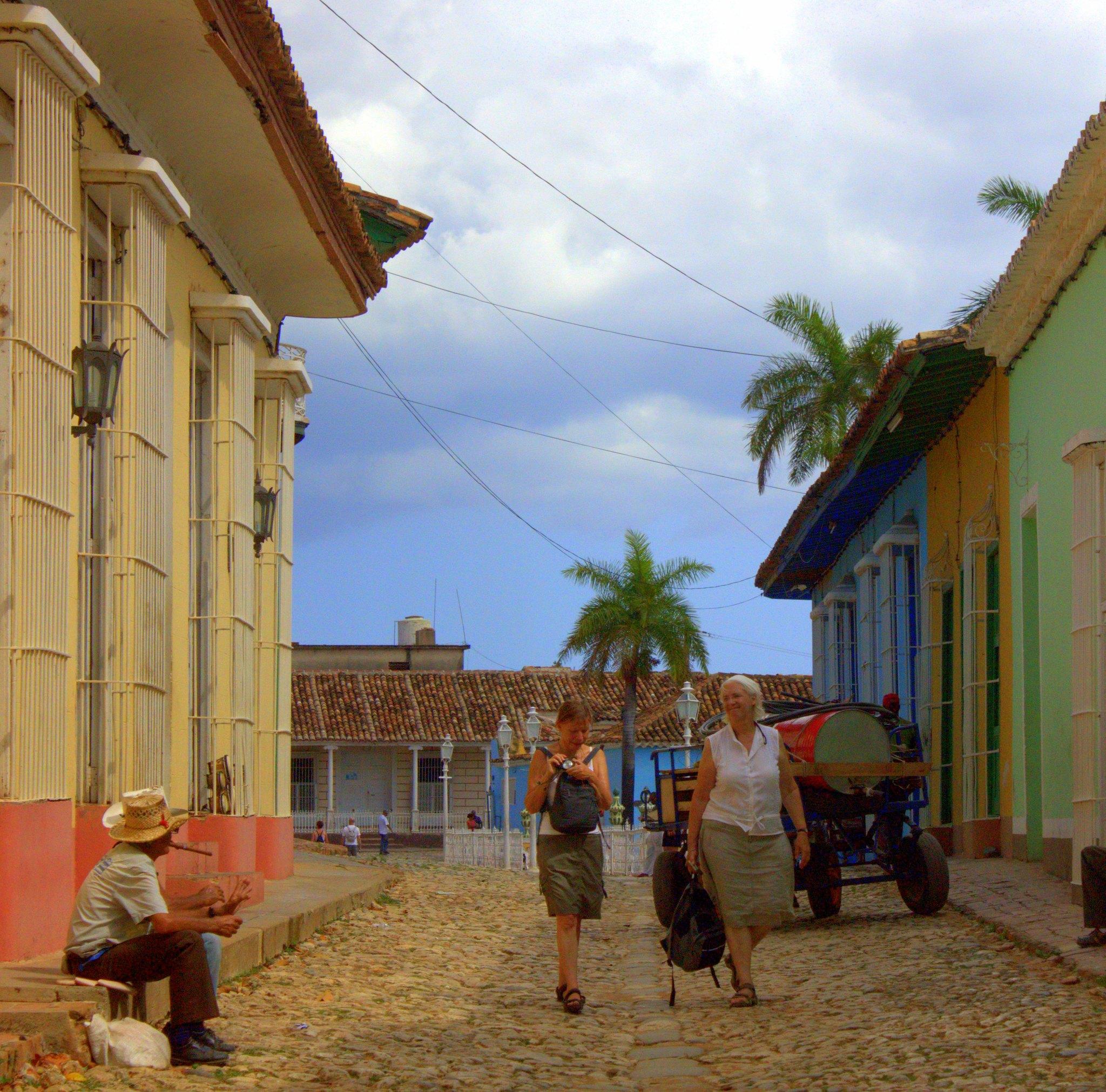 Trinidad Cuba has aggressive touts