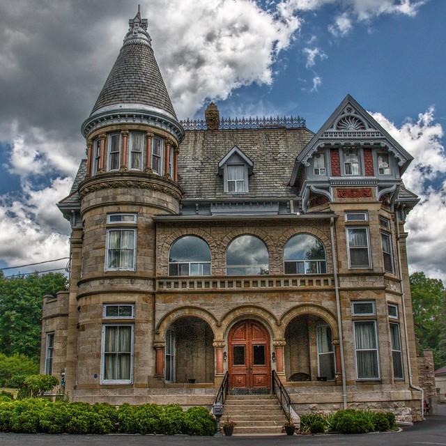 Paris Ontario - Canada - Penmarvian Retirement Home -  AKA - Riverview Hall - Heritage