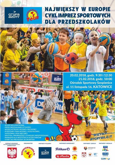 Plakat GAPT2018  Katowice 2 dni