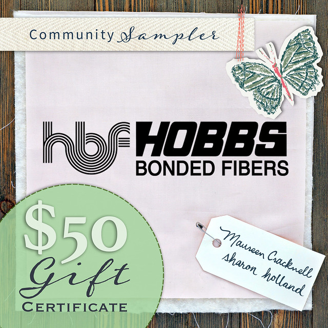 Hobbs Batting Community Sampler Giveaway!