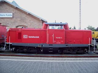 DB Notfalltechnik 714 002 in Fulda
