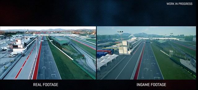 MotoGP 18 - Drone Scan