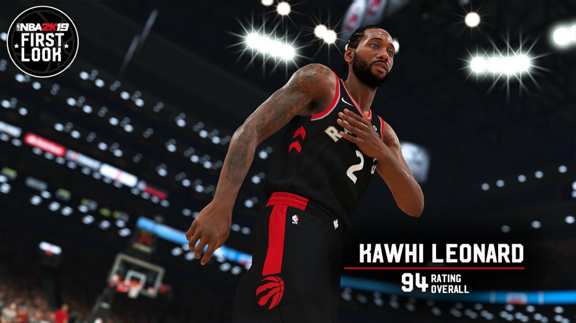 NBA 2K19 screenshot Kawhi Leonard ve Demar Derozan - 94 ve 89 overall