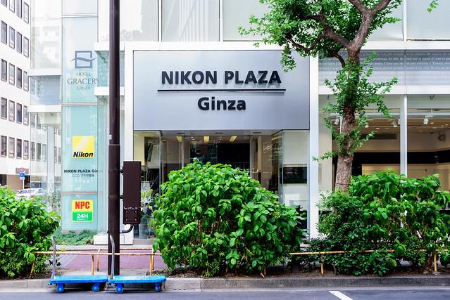At Nikon Plaza Ginza : ニコンプラザ銀座, Nikon D750, Tamron SP 35mm f/1.8 VC