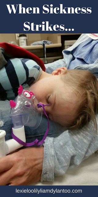 When Illness Strikes... #motherhood #momblogger #Downsyndrome
