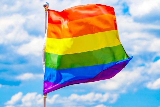 2018.08.01 Rainbow Flag over Washington, Washington, DC USA 05288