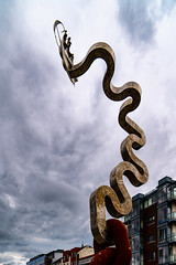 DENIS O'CONNOR'S SCULPTURE [LOCATED ON GRATTAN QUAY WATERFORD]-142239
