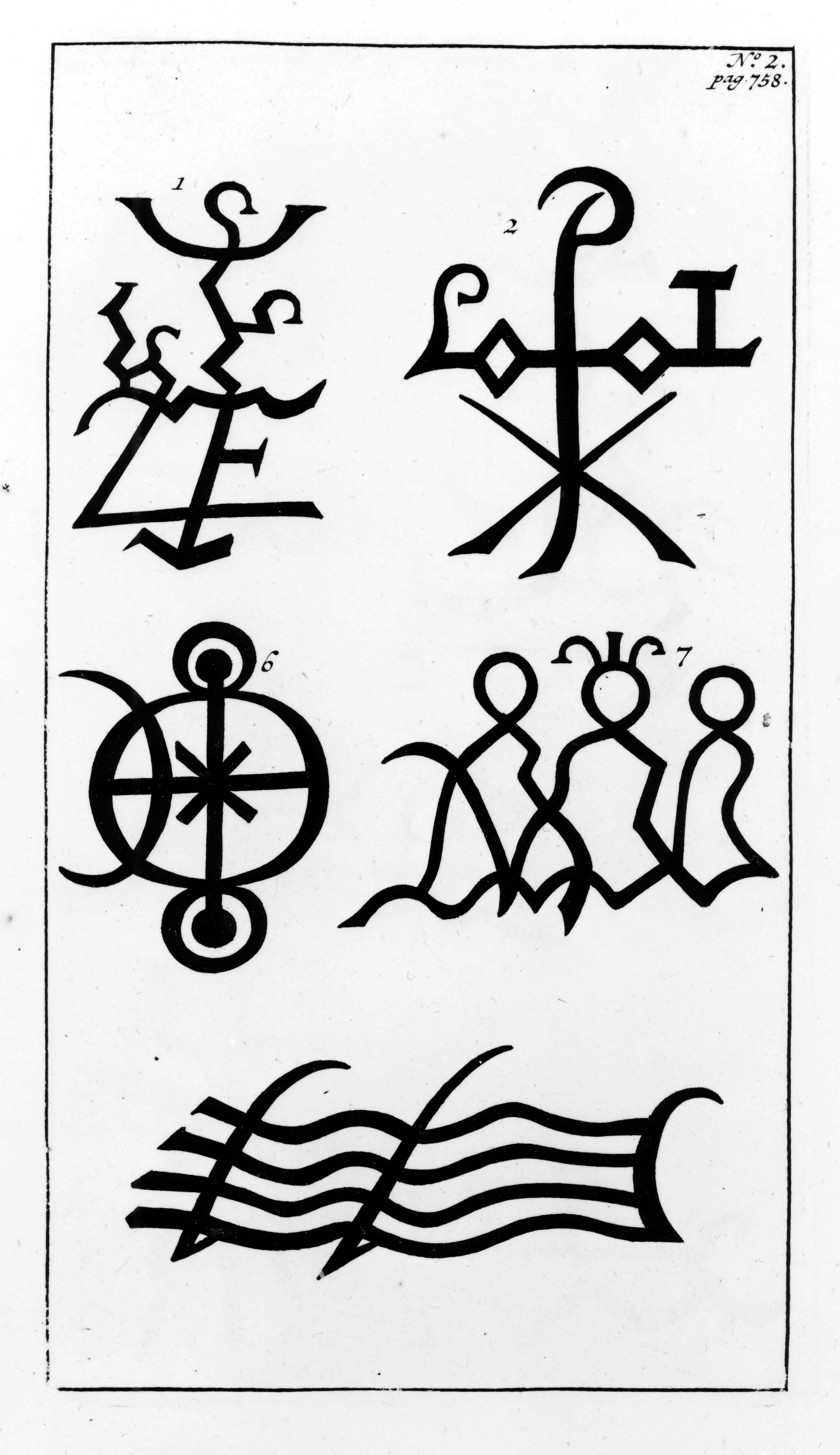 Древние знаки или символы, найденные в Сибири