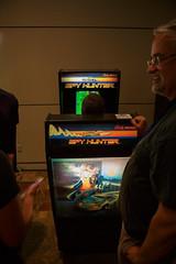 """Spy Hunter"" Arcade Game"