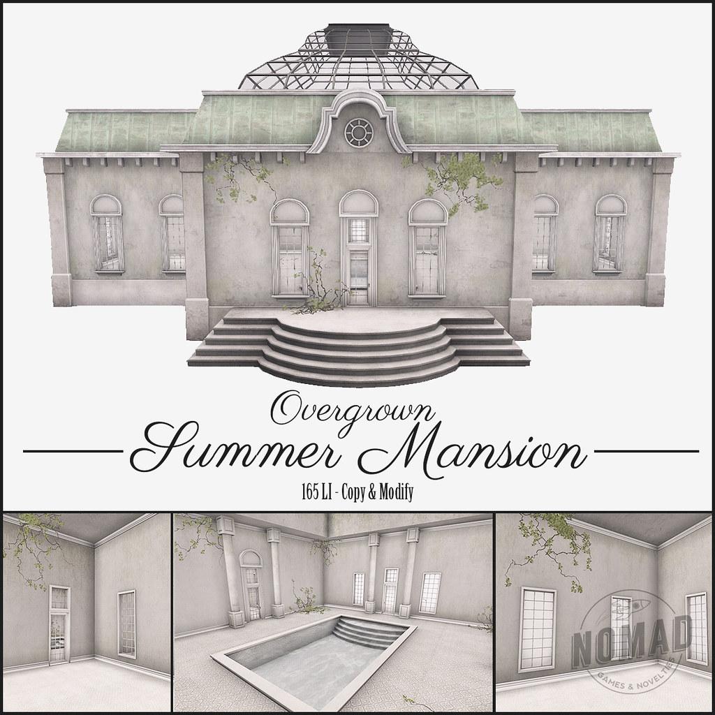 NOMAD – Overgrown Summer Mansion