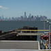 Manhattan Skyline, From Staten Island by Photographs By Wade