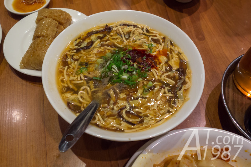 Din Tai Fung - Spicy Hot and Sour Soup