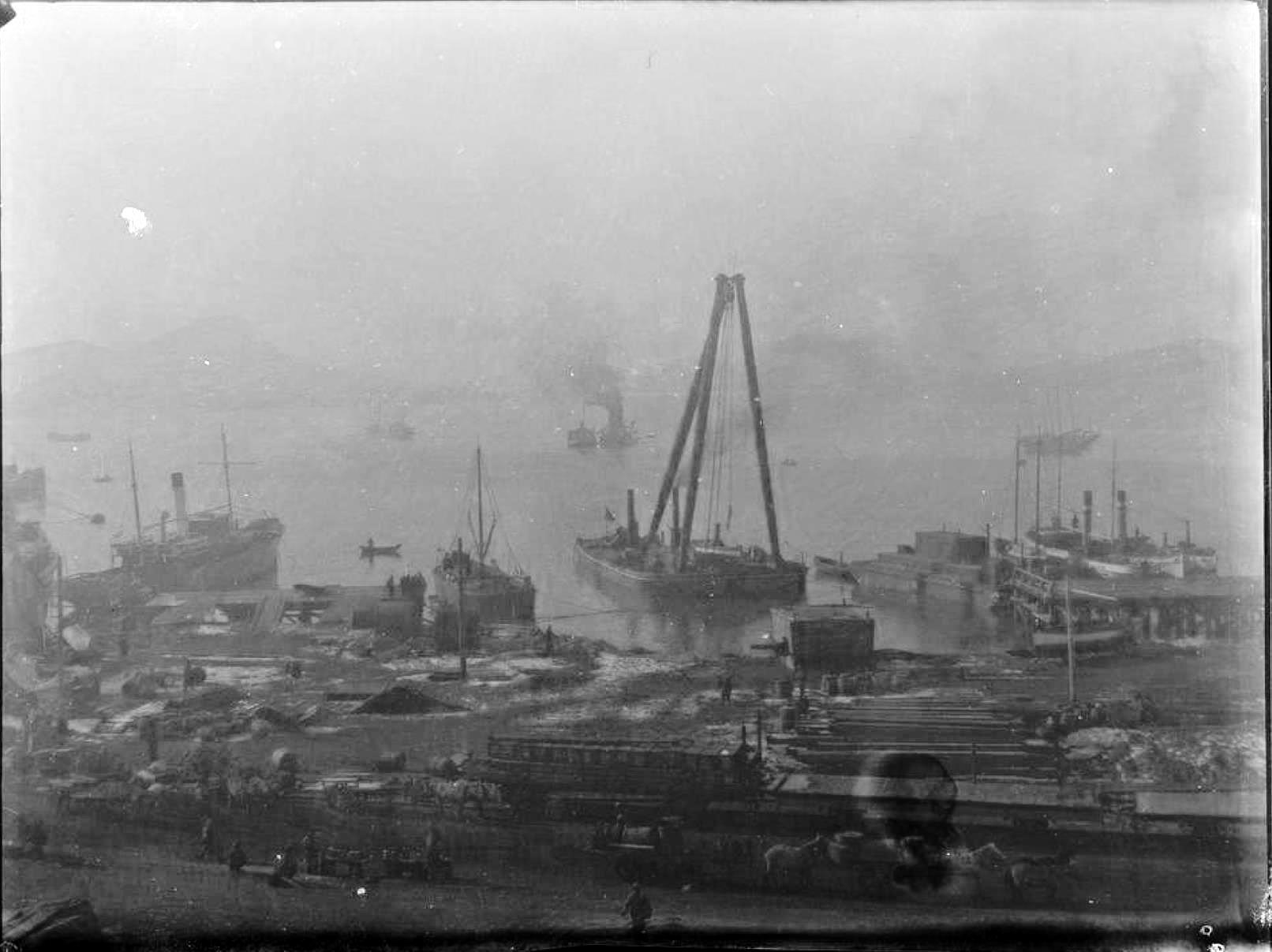 12. Порт-Артур. Торговый порт