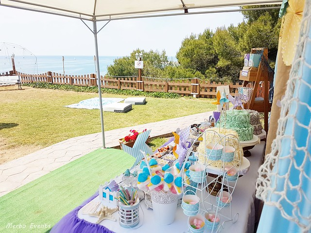 fiesta bajo el mar Merbo Events