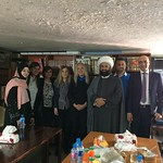 Vassula welcomed by Sheikh Mohamad in his office
