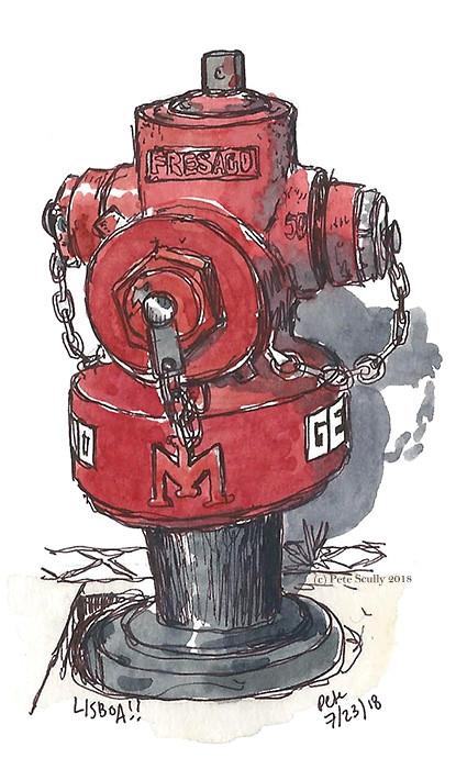 Lisbon hydrant 2 sm