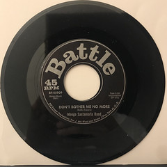 MONGO SANTAMARIA BAND:WATERMELON MAN(RECORD SIDE-B)