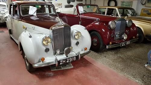 Bentley 1948 & Rolls Royce 1947. Kilgarvan Motor Museum, Eire
