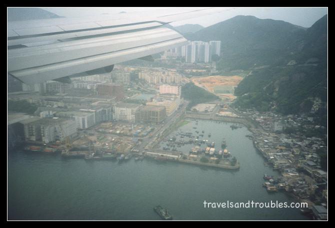 Zicht op Hong Kong