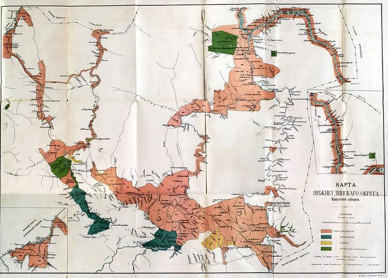 Начало 20 века Нижнеудинский округ Иркутской губернии