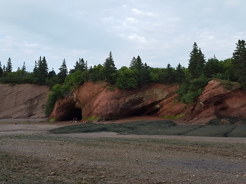 Sea caves in St. Martins. From Eight Surprising Delights Around Canada's Bay of Fundy