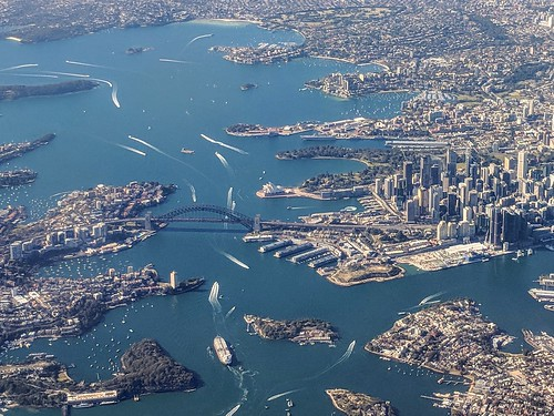 Sydney from the air