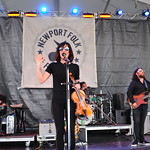 Fri, 27/07/2018 - 11:24am - Amanda Shires and her band, Newport Folk Festival 2018. Photo by Neil Swanson/WFUV