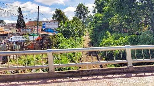 Oldest railroad in Vietnam is in Dalat.