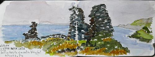 Tile Black Castle. Wicklow. Ireland