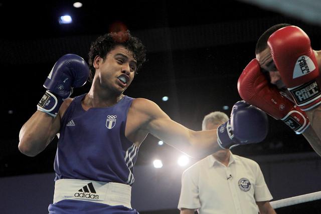 Boxeador Léster Martínez a la final en Barranquilla 2018