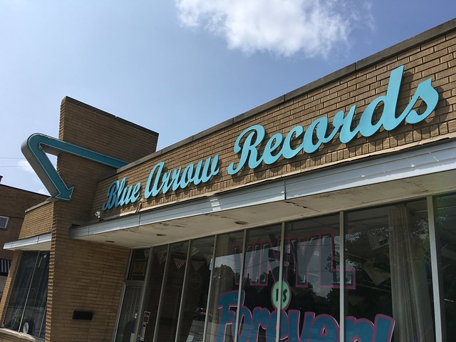 Blue Arrow Records in Cleveland