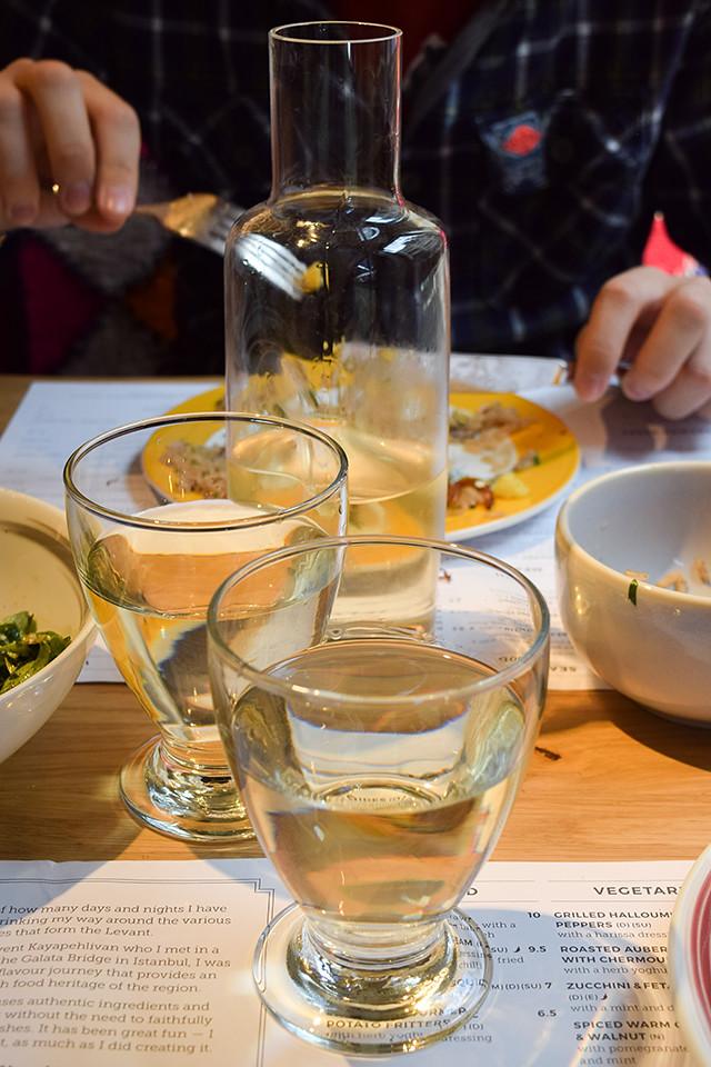 Levantine Wine at Ceru, Soho