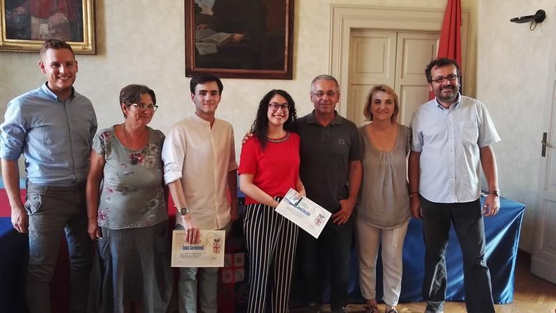 A Castel Bolognese la giunta ha festeggiato i super maturi