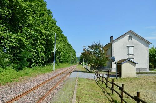 Gare SNCF de Ogeu-les-Bains - 04/08/18