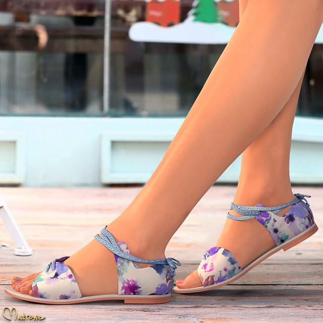 Mutresse@C88 August 2018 - Sofia Flat Sandals