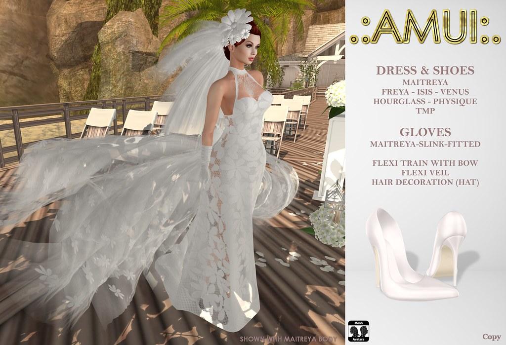 """.:AMUI:. """"Beth"""" Bridal Dress"""