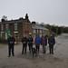 001-20180120_Chinley district-Peak District-Derbyshire-Bugsworth Canal Basin (Buxworth)-beside Navigation Inn-L-R Adrian, Dave S, Anna, Adrenne, Julia, Dave W