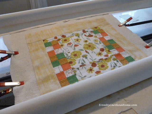 Colors of August Placemats and Table Topper at From My Carolina Home