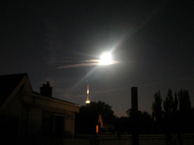 Header of Across the Moon