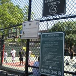 NYC - Harlem: Holcombe Rucker Basketball Courts