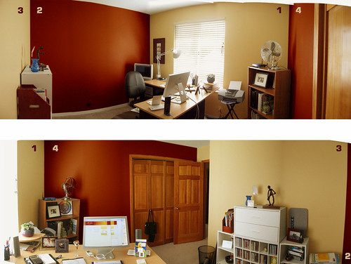 Color For The Office O Mafe Maria Yellow Living Room With Red Accent Wall