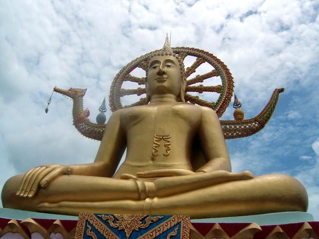 Buddha @ Big Buddha, Thailand by CC user timparkinson on Flickr