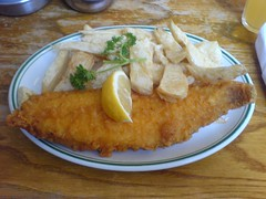 meal, tonkatsu, fish and chips, fried food, meat, food, dish, cuisine,