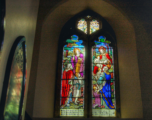 Church window HDR