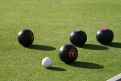 boules, lawn game, grass, individual sports, sports, ball game, ball,