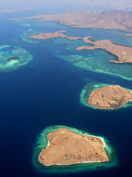 Islands in Komodo National Park