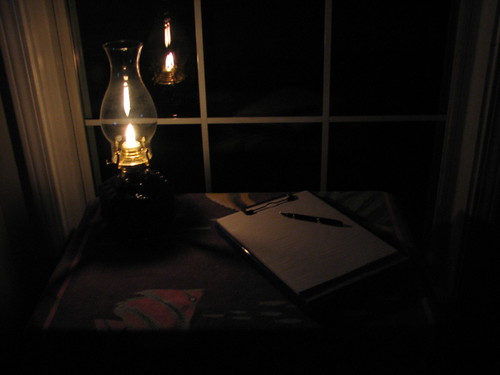 Writing In The Quiet of The Night